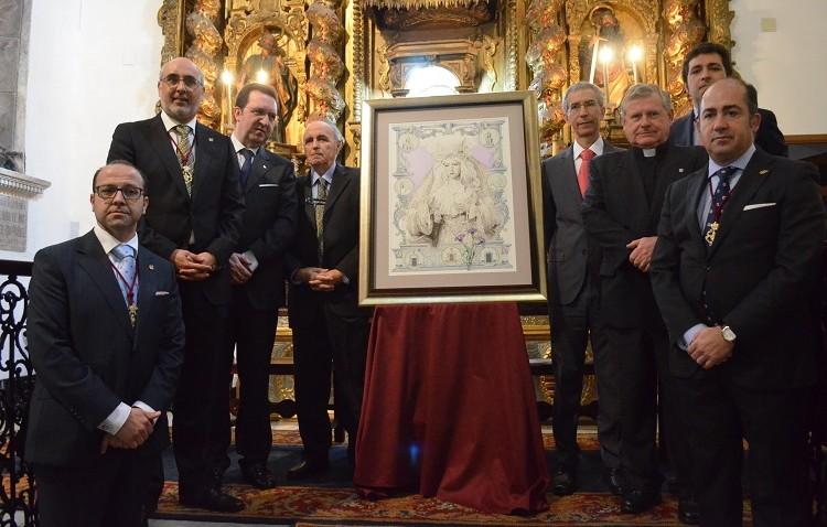 La Virgen de la Esperanza, protagonista del cartel de la Semana Santa