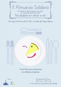 almuerzo solidario 2015 cartel