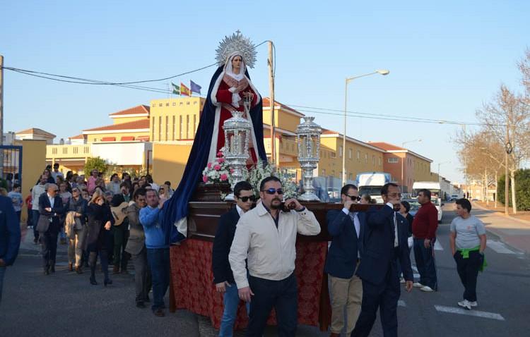 La Virgen de la Amargura acudió a su encuentro anual con los mayores (GALERÍA)