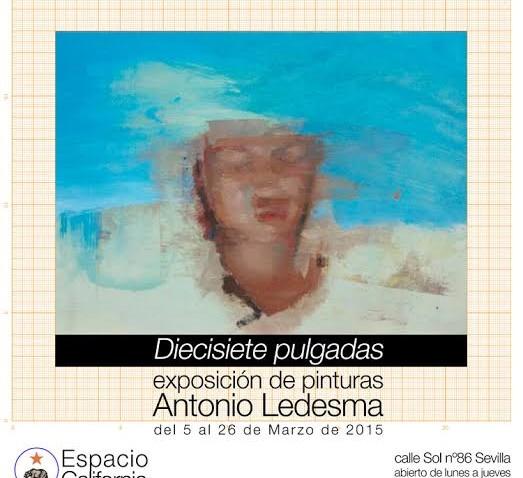 El utrerano Antonio Ledesma lleva a Sevilla suexposición «Diecisiete pulgadas»