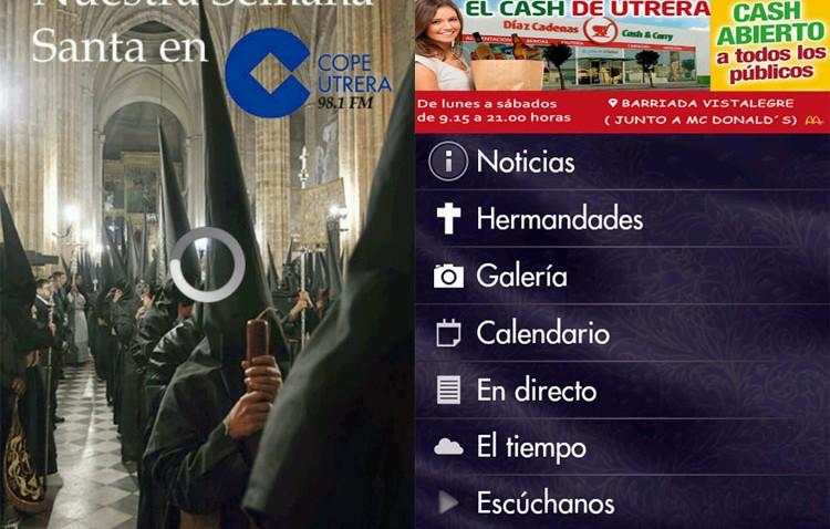 Toda la información sobre la Semana Santa, en la aplicación gratuita de COPE Utrera