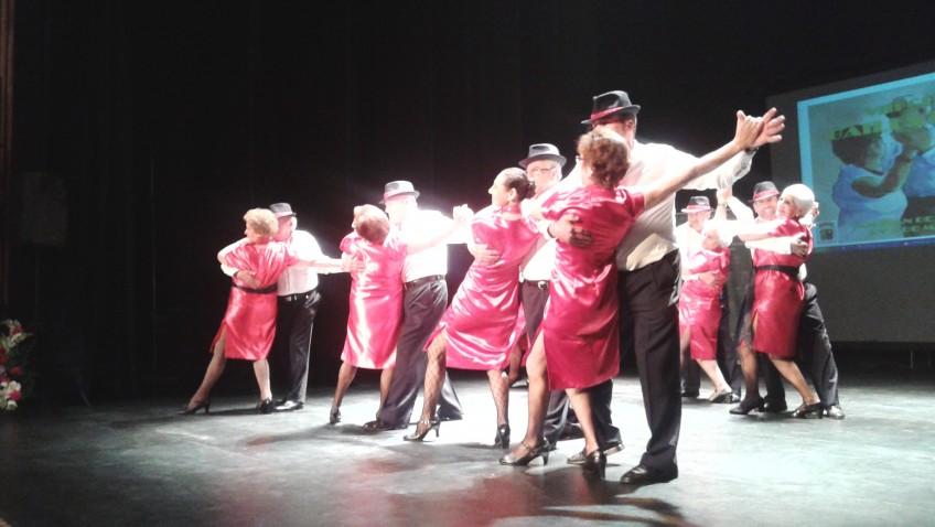 Utrera, presente en el certamen provincial de bailes de salón