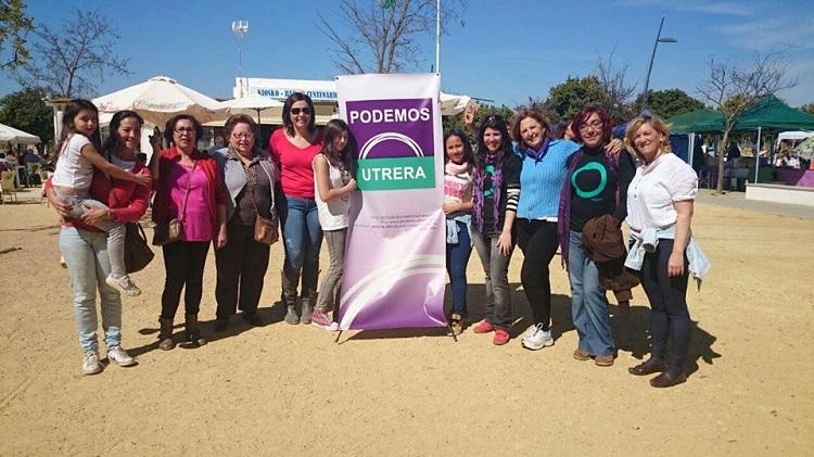 Podemos lleva al parque del V Centenario su inicio de la campaña electoral andaluza