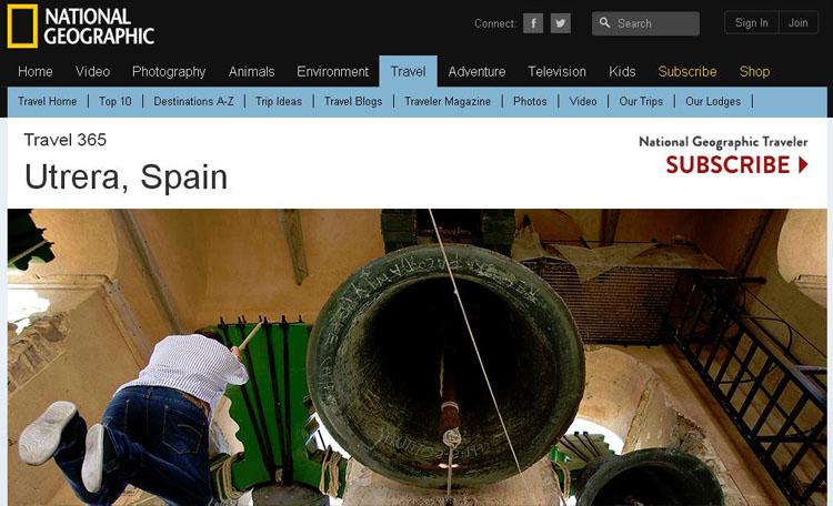 La tradición campanera de Utrera, protagonista en «National Geographic»