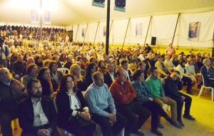 Numerosas personas acudieron a la convocatoria