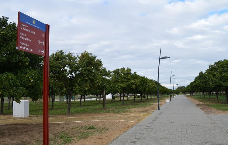 El mantenimiento del parque del V Centenario se integrará en el modelo de gestión mixta puesto en marcha por el Ayuntamiento