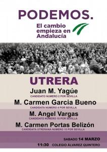 podemos mitin elecciones andalucia 14marzo