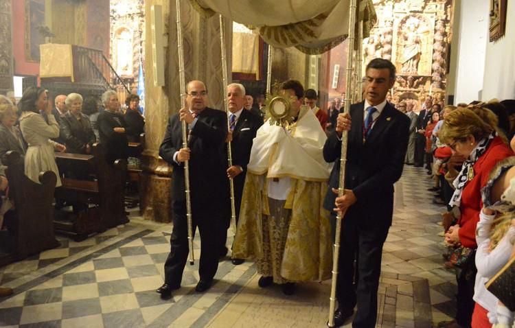 Cambio importante en el Domingo de Resurrección, que recupera otra procesión sacramental