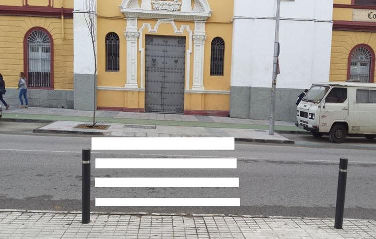 Petición de un paso de peatones