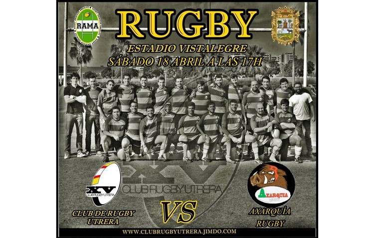 C.R. Utrera – Rugby Axarquía: La final se juega en Vistalegre
