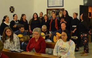 El coro de la hermandad de Fátima cerró el acto