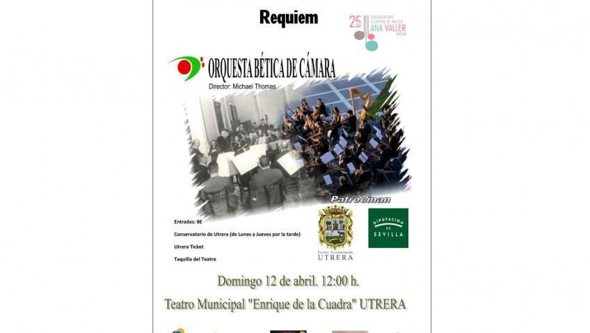Importante concierto por las bodas de plata del conservatorio, con la presencia de la Orquesta Bética de Cámara