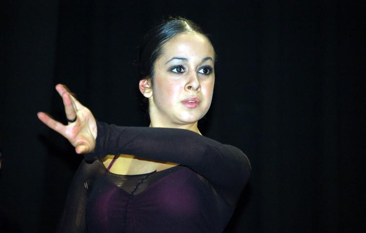 La utrerana Isabel Martos, en el Centro Andaluz de Danza