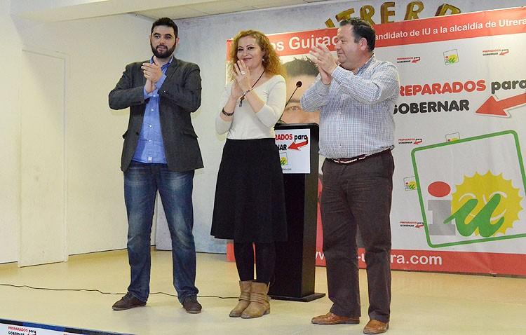 IU presenta «la mejor candidatura que concurre a las elecciones»