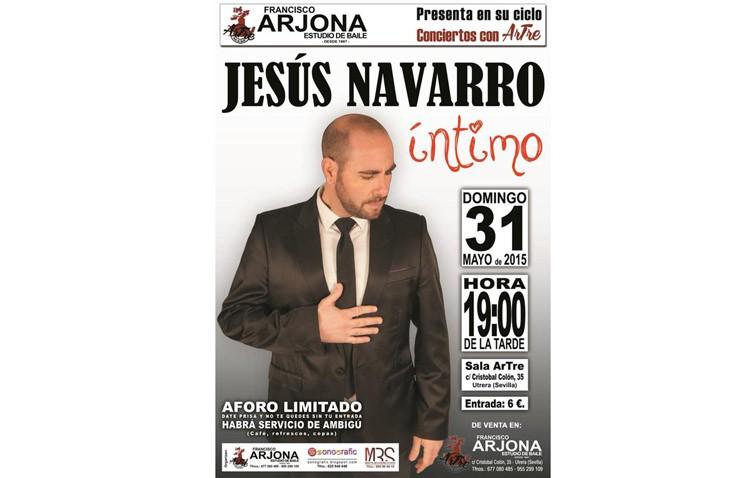 Concierto del cantautor Jesús Navarro en la sala Artre