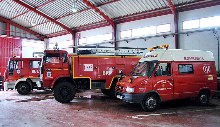 El sindicato CSIF denuncia «carencias» en los vehículos de Bomberos