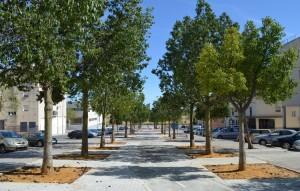 Avenida que estará rotulada con el nombre del cantaor