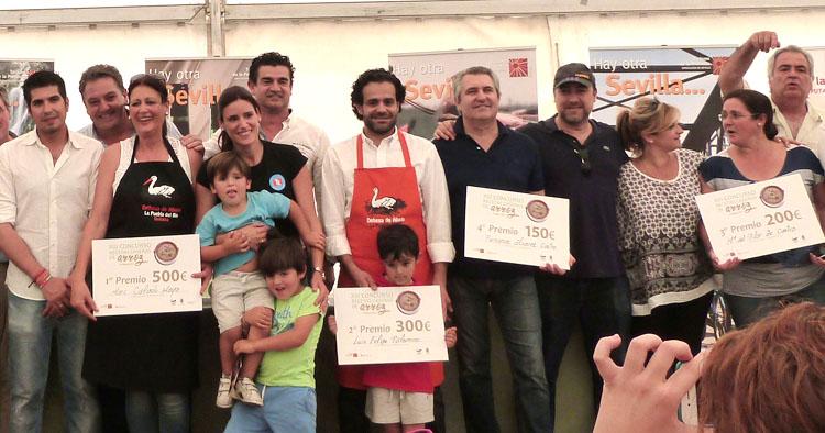 Un utrerano, cuarto premio del certamen provincial de recetas de arroz
