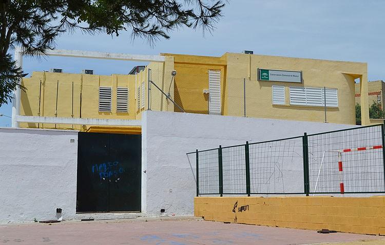 El conservatorio se transformará en espacio de equipamientos cuando se traslade al actual colegio Al-Andalus