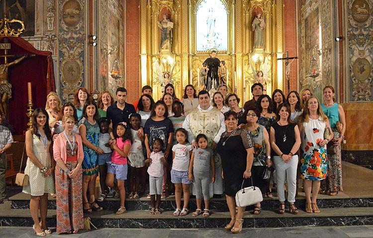 La creación del monumento a María Auxiliadora permite realizar donaciones a seis entidades humanitarias