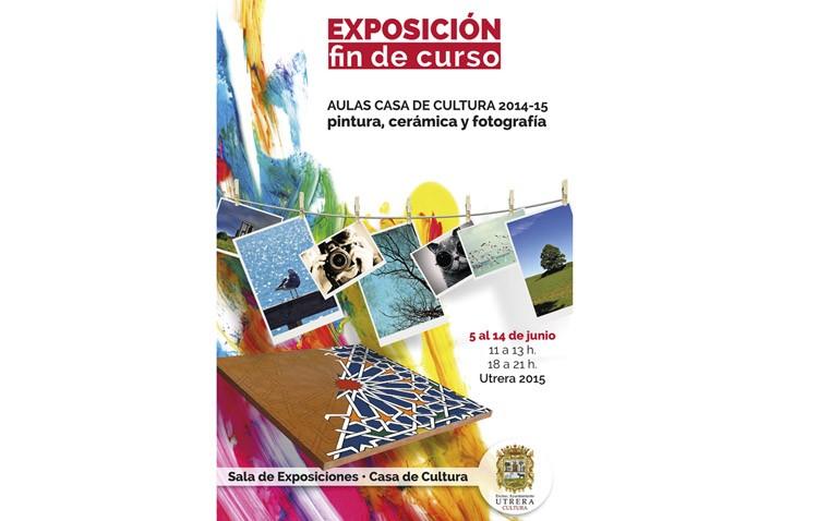Una exposición muestra el trabajo de los alumnos de la Casa de la Cultura