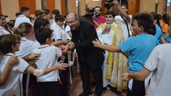 El cardenal primado de Uruguay visita la «Casa Madre» salesiana de Utrera (GALERÍA)