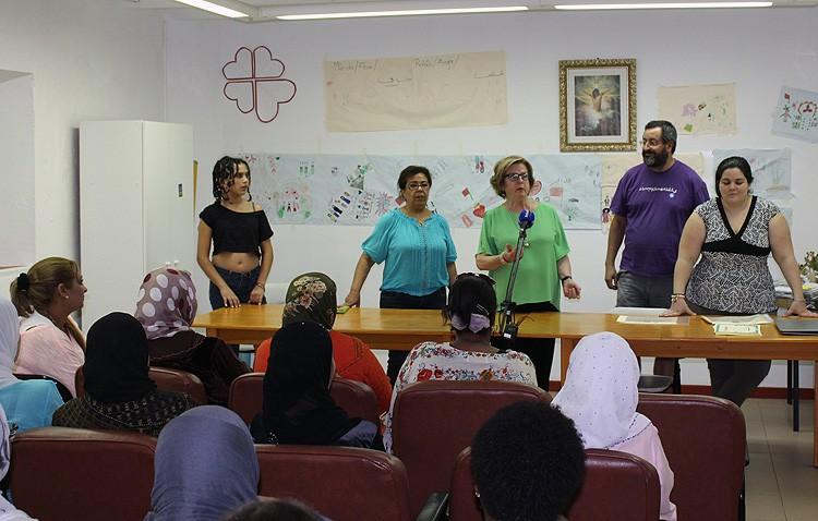 Cáritas de Santiago clausura su taller para inmigrantes y personas en riesgo de exclusión social