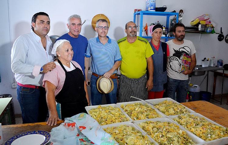 El comedor social de Utrera, ejemplo para un proyecto de Cañamero en El Coronil