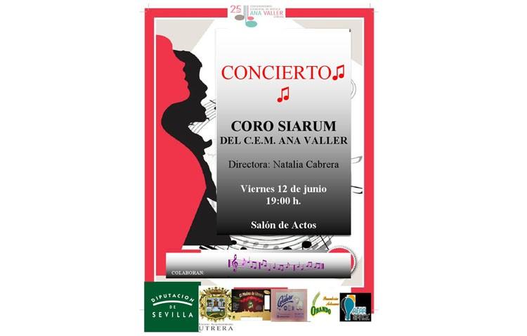 Concierto del coro Siarum en el conservatorio
