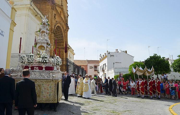 Utrera se prepara para vivir la fiesta del Corpus Christi