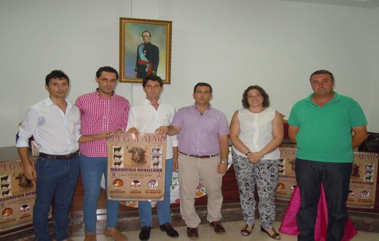 Daniel Araujo estará en la feria de la localidad jiennense de Pegalajar
