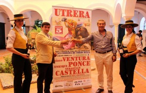 Los empresarios taurinos Curro Durán y Carmelo García