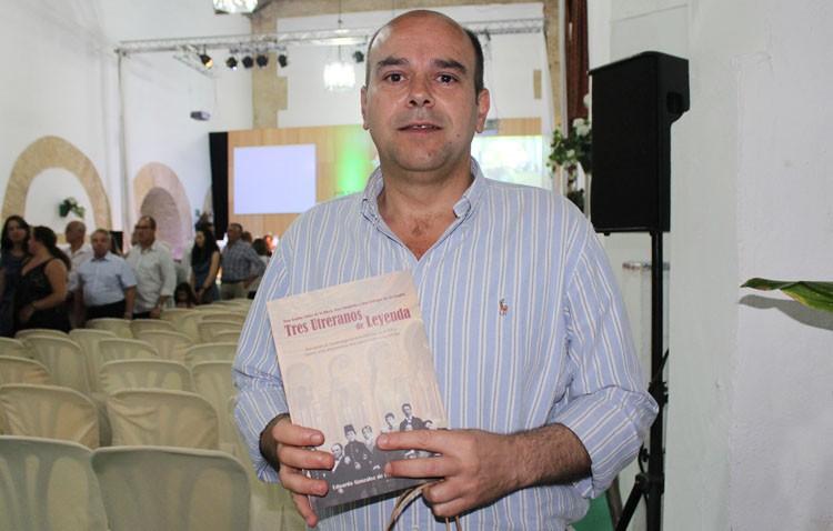 La historia de «Tres utreranos de leyenda», recogida en un libro por Eduardo González de la Peña