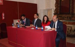 Antonio Cabrera, Sergio Sierra, Tamara Casal y Eduardo González de la Peña