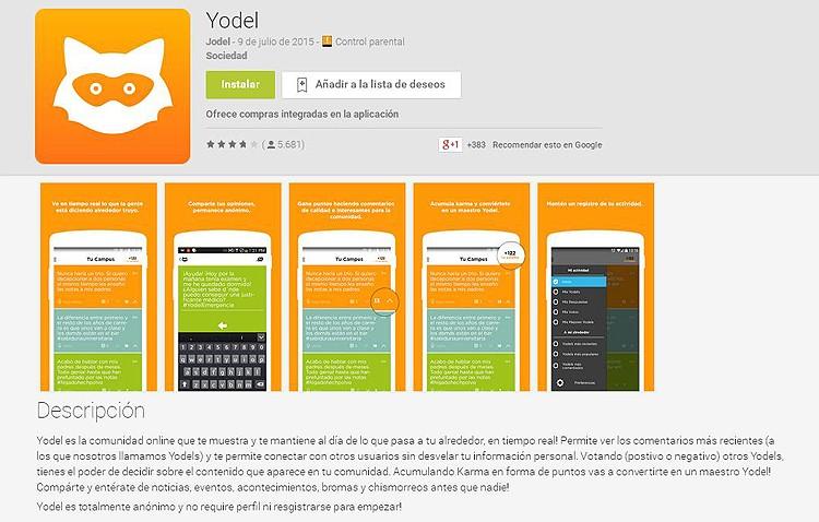 La Guardia Civil investiga cinco denuncias en torno al uso de la app «Yodel»