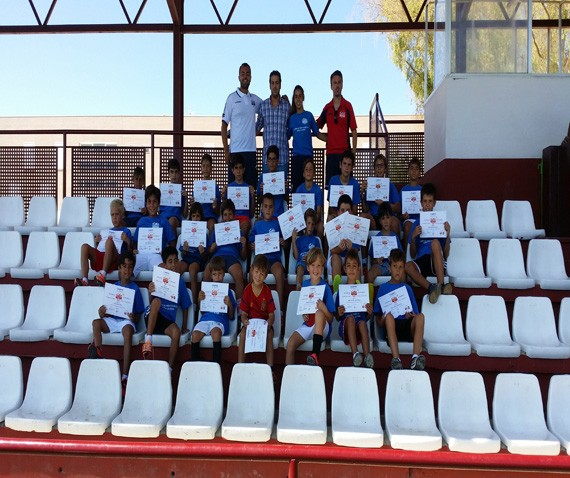 Clausurado el 3º campus de la Escuela de Fútbol de Utrera