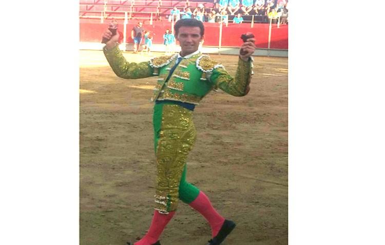 El torero Luis Vilches firma dos grandes actuaciones en Almorox (Toledo) y Briviesca (Burgos)
