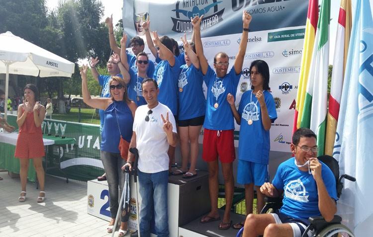 El Club Natación Utrera organiza pruebas de natación para personas con discapacidad