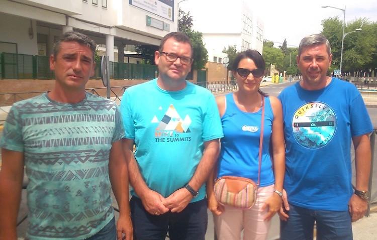 Paco Quesada, secretario del Natación Utrera: «El Ciudad de Utrera es un primer paso para organizar trofeos oficiales»