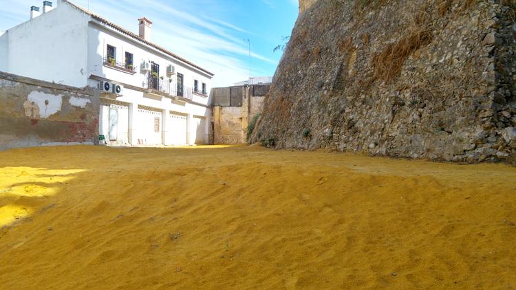 La nueva calle peatonal junto al castillo se llamará «Paseo del Mostachón»
