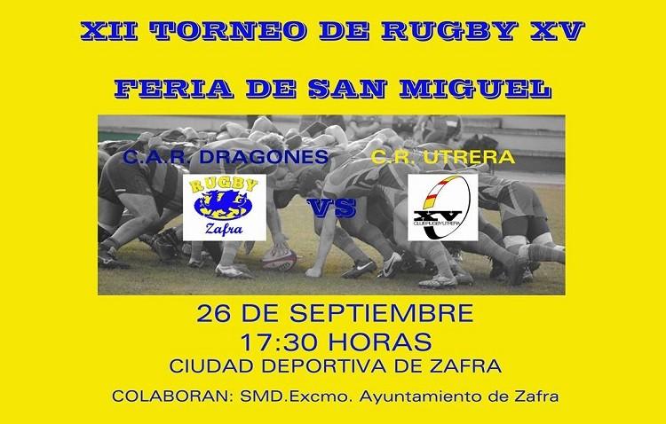 El Club Rugby Utrera, invitado en el XII Torneo de Rugby XV de Zafra
