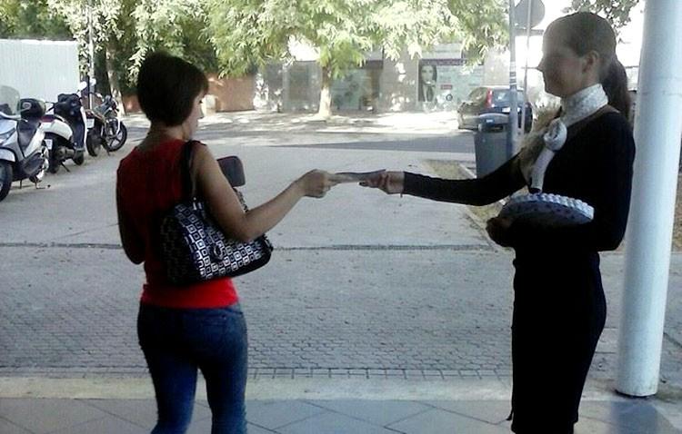 Utrera «vende» en Sevilla su Feria de Consolación