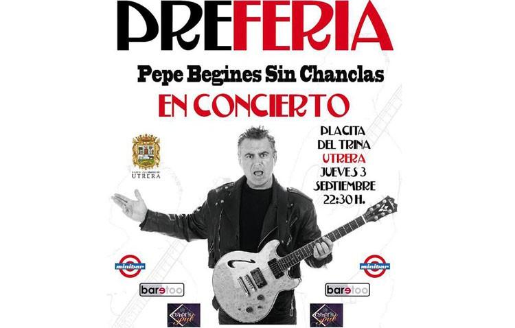 Concierto de Pepe Begines en Utrera