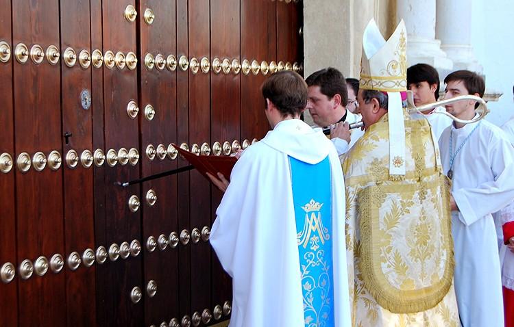 El santuario de Consolación abrirá su puerta jubilar el 10 de enero