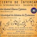 banda alvarez quintero - concierto intercambio cartel