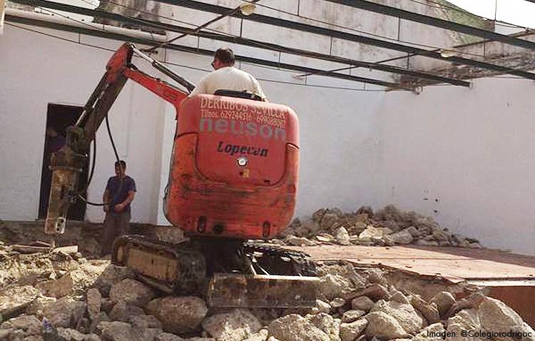Comienza la ampliación del colegio Rodrigo Caro