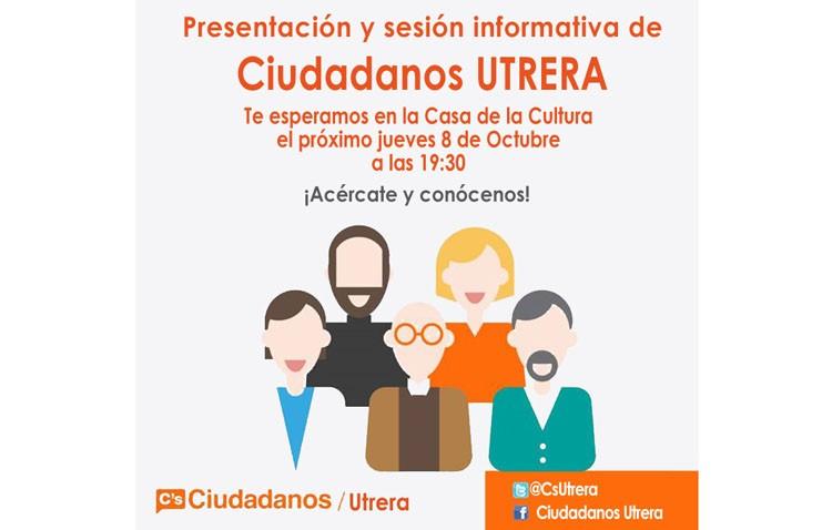 Ciudadanos se presenta oficialmente en Utrera