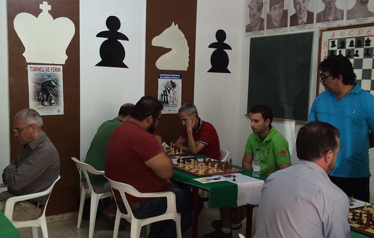 Aleph comienza con victoria el Campeonato de Andalucía de ajedrez