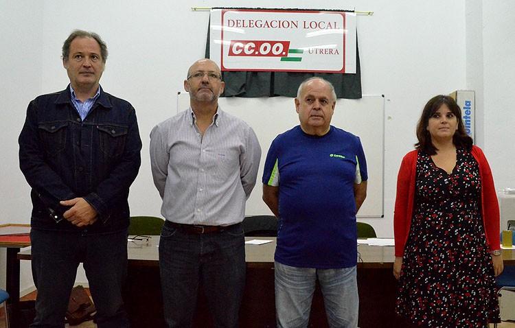 Comisiones Obreras renace en Utrera para ser «un referente» en la ciudad