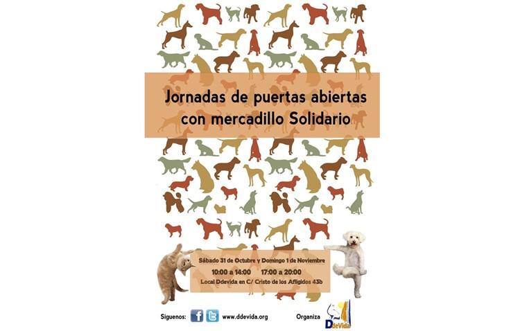 Jornadas de puertas abiertas con mercadillo solidario en Ddevida